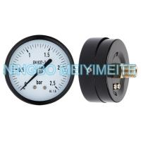 General Pressure Manometer Standard Dry Pressure Gauge For Gas / Water / Machines