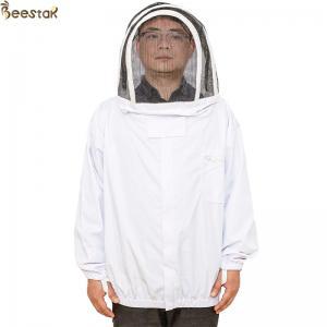 Economic Bee Jacket With Zippered Hood Beekeepers Protective Clothing S-2XL