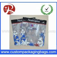 Wholesale Three Side Sealed Aluminum Foil Plastic Ziplock Bag For Frozen Food from china suppliers