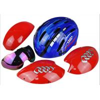 Wholesale Professional Bike Racing Helmet Yellow / Adult Racing Bicycle Helmet Anti - Impact from china suppliers