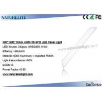 Wholesale UGR <19 54W 300 x 1200 Led Panel Lights Hotel Lobby led flat panel lights from china suppliers
