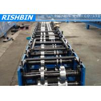 Buy cheap Post Holes Punching Stud Channel Roll Forming Machine 10 Stations from wholesalers