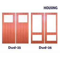 Wholesale OEM Timber Composite Doors With Fir Wood / MDF Door Leaf & Frame from china suppliers