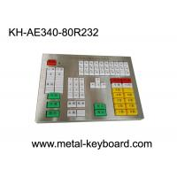 Wholesale Custom Panel 80 Resin Keys Industrial Metal Keyboard For Highway Toll Station from china suppliers