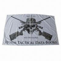 Wholesale Customized Designs Flag, Full Color by Digital Printing, Made of Polyester from china suppliers