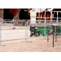 Wholesale Rio Olympic games(2016) pre-galvanized Crowd Control Barriers Made In China Top Fence from china suppliers