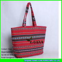 Wholesale LDFB-001 red extra large beach tote bag foldable promotion fabric tote sadu bag from china suppliers