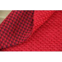 Wholesale Soft Texture English Wool Suiting Fabric , Merino Red Wool Flannel Fabric from china suppliers