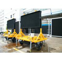 Wholesale Dual Color P16 Portable Variable Message Sign Traffic Control With High Visible 1024mmx1024mm from china suppliers
