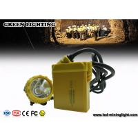 Buy cheap IP68 25000 Lux Mining Cap Lights Miners Headlamp Environmental - Friendly from wholesalers