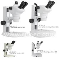 Wholesale 8x - 50x Trinocular Stereo Zoom Microscope with Track Stand LED Light A23.1501 from china suppliers