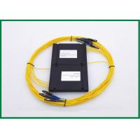 1x4 1550nm Single Mode Couplers For Broadband Access Network , Passive Optical Devices