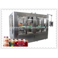 Wholesale Automatic Bottle Soybean Milk Hot Filling Machine With 8 Capping Head from china suppliers