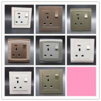 Wholesale One Gang 13 a Wall Switch Socket Limit Button Household/General Purpose from china suppliers