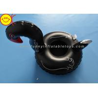 Buy cheap Inflatable Pink Flamingo Coasters Cup Drink Holder Swimming Pool Floats Black Color from wholesalers