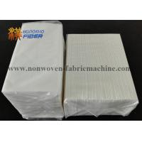 Wholesale Solvent Resistant Linen Like Guest Hand Towels 12 X 17 Inches 1 / 6 Fold from china suppliers