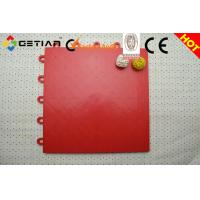 Wholesale Red Comfortable Pp Volleyball Court Flooring, Suspended Modular Sports Floor from china suppliers