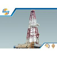 Quality Hydraulic Oil Drilling Rig , Pneumatic Oil And Gas Drilling Equipment ZJ50/3150DBS for sale
