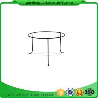 """Wholesale Decorative Indoor Small Plant Tray Stand Powder Coated Stainless Steel 12-1/4"""" top diameter, 14-3/8"""" bottom diameter x 8 from china suppliers"""