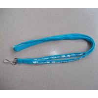 Wholesale Polyester tubular lanyards with swivel hook J hook, China factory polyester tube straps, from china suppliers