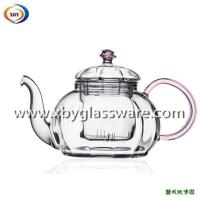 Wholesale Heat resistant teapot with colored lid and handle from china suppliers