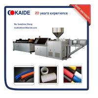 Wholesale PE Single wall corrugated pipe making machine supplier China from china suppliers