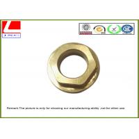 Wholesale High Speed milling machined parts brass nut used for eye tracking system from china suppliers