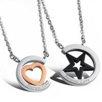 Wholesale New Fashion Tagor Jewelry 316L Stainless Steel couple Pendant Necklace TYGN157 from china suppliers