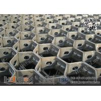 "Wholesale 14 gauge 1"" depth Carbon Mild Steel  Hexmesh With Bonding Hole 