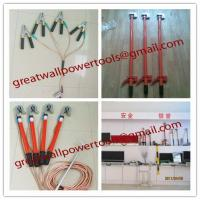 Wholesale High Voltage Portable Earth Rod, Portable short-circuit earthing rod from china suppliers