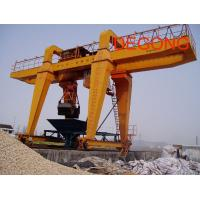 Wholesale Double beam gantry crane with hook from china suppliers