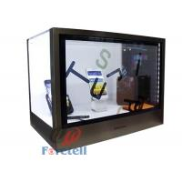 Wholesale Colorful Transparent LCD Display Touch Screen Transparent Monitor Acrylic + Aluminum Case from china suppliers