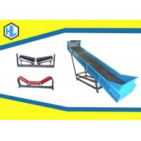 Wholesale Blue Color 250 M³/H Capacity Inclined Belt Conveyor For Loading / Unloading Material from china suppliers