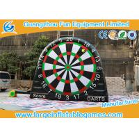 Wholesale Garden Inflatable Sport Games Target Toss Fun Inflatable Dart Board with Velcro Balls from china suppliers