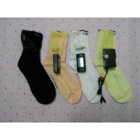 Wholesale heating socks with lithium rechargeable  battery and charger from china suppliers