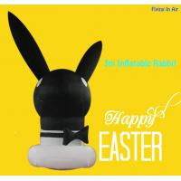 Wholesale OEM 3m Black Easter Inflatable Decorative Inflatable Rabbit Foe Easter from china suppliers