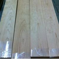 Wholesale Quarter Cut Cherry Wood Floor Veneer Sheets Fine Straight Crown Grain from china suppliers