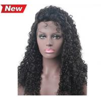 Wholesale All Length Full Lace Virgin Hair Wigs / Blonde Body Wave Hair No Foul Odor from china suppliers