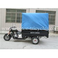 Wholesale Passenger Motor Tricycle Three Wheel , Gasoline Tricycle With Cabin Seats from china suppliers
