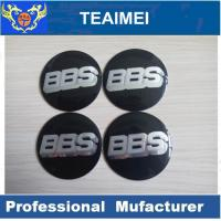 Wholesale 56mm BBS Car Sticker ABS Plastic Label Sticker With Glass Cement from china suppliers