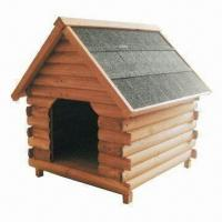 Wholesale Dog Kennel, Made of Chinese Fir Wood, Available in Different Sizes from china suppliers