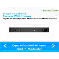 Quality ISDB T Digital TV Modulator With Adaptive Linear / Nonlinear Digital Pre - Distortion for sale