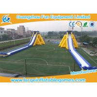 Wholesale PVC Material Commercial Large Inflatable Dry Slide With Print For Adult Kids from china suppliers