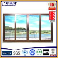 Quality aluminium frame sliding glass doors for sale