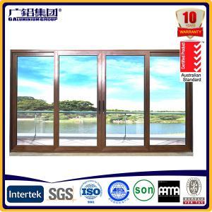 Buy cheap aluminium frame sliding glass doors from wholesalers