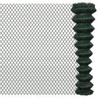 Wholesale 2×25m Black Galvanized Chain Link Fence PVC Coated OEM / ODM Available from china suppliers