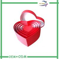 Wholesale Paper Printing Heart Shape Elegant Gift Boxes / Wedding Candy Box FSC Approval from china suppliers