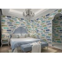 Wholesale Eco Friendly Kids Bedroom Wallpaper , Children's Room Wallpaper Car Pattern from china suppliers