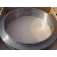Buy cheap Large Flange ASTM Forged Steel Rings Of  Round Disk Shape , Carbon Steel  ISO 9001 - 2008 from wholesalers