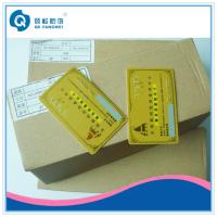 Wholesale Gold Hot Stamping Plastic Card Printing , CR80 PVC Business Card With Serial Number from china suppliers